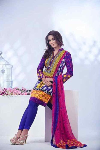 Ayesha Somaya Eid Collection 2015 By Flitz007