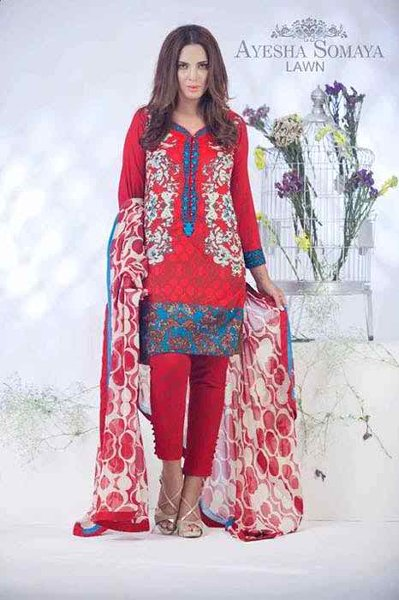 Ayesha Somaya Eid Collection 2015 By Flitz008