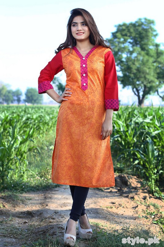 Damak Girls Kurtis 2015 For Summer 5