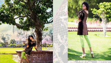Erum Khan Formal Wear Dresses 2015 For Summer 1