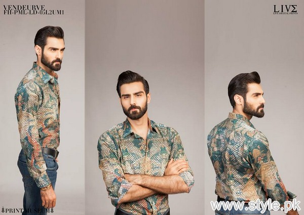 Fahad Hussayn Menswear Dresses 2015 For Midsummer 4