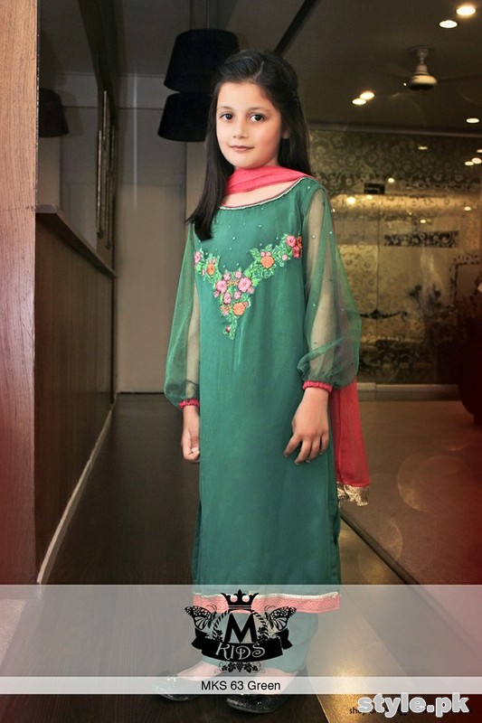 Maria B Kids Wear Dresses 2015 For Summer 5