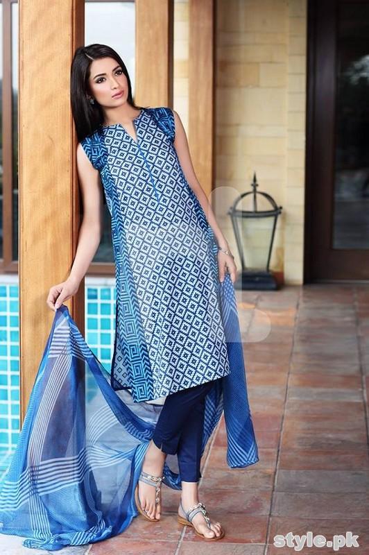 Nishat Linen Summer Dresses 2015 Volume 2 4