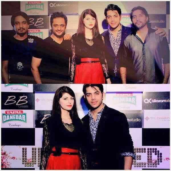Pakistani Celebrities At The Launch Of Jal Music Video