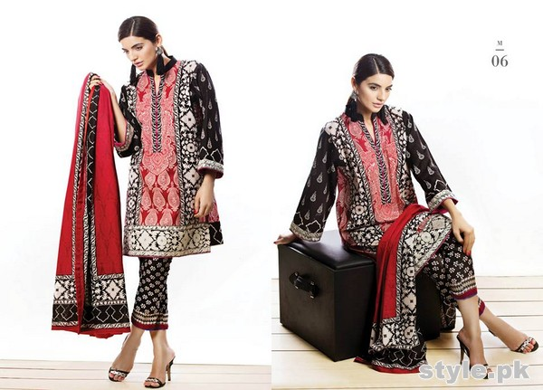 Sana Safinaz Unstitched Collection 2015 For Summer 4