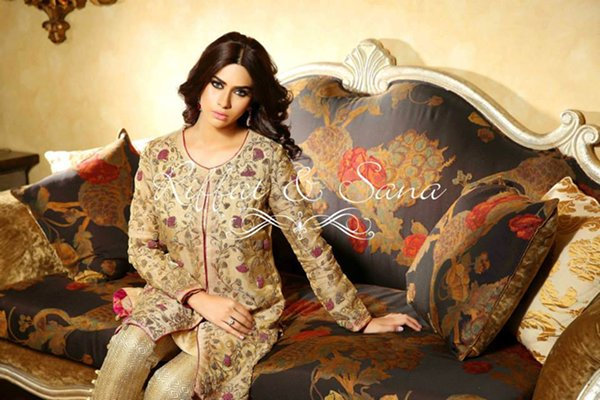 Sana Salman Formal Wear Collection 2015 For Women 005
