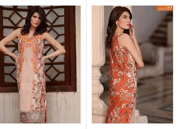 Sobia Nazir Unstitched Tunics Collection 2015 For Women0017