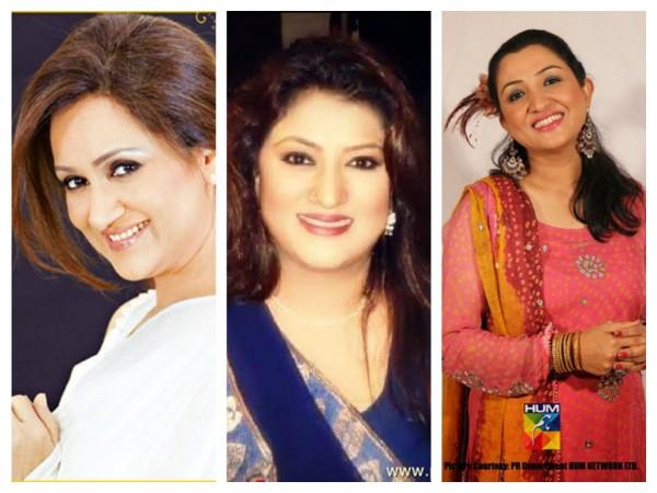 Top 5 Popular Comic Female Actresses In Pakistan TV Industry