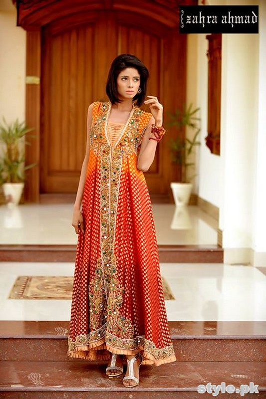 Zahra Ahmad Formal Dresses 2015 For women 6