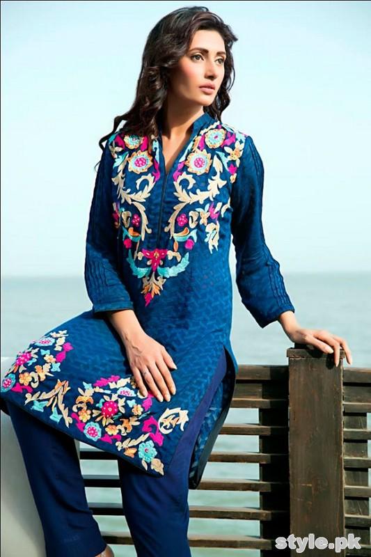 Zainab Hasan Summer Dresses 2015 For Women 6