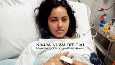 Actress Nimra Khan's survival Journey after very badly accident Back to the life (1)