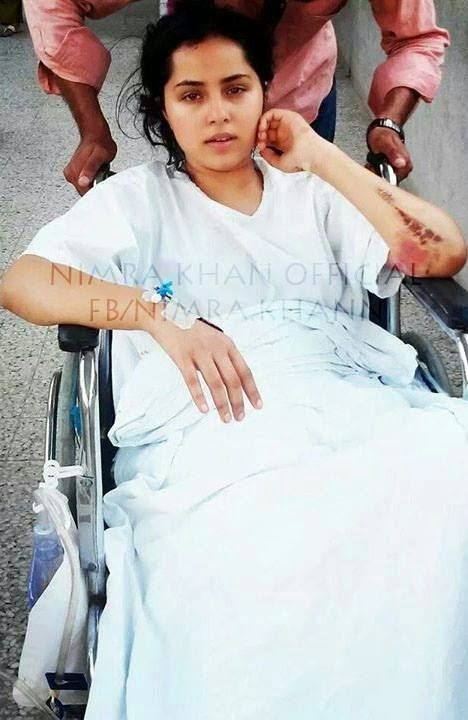 Actress Nimra Khan's survival Journey after very badly accident Back to the life (9)
