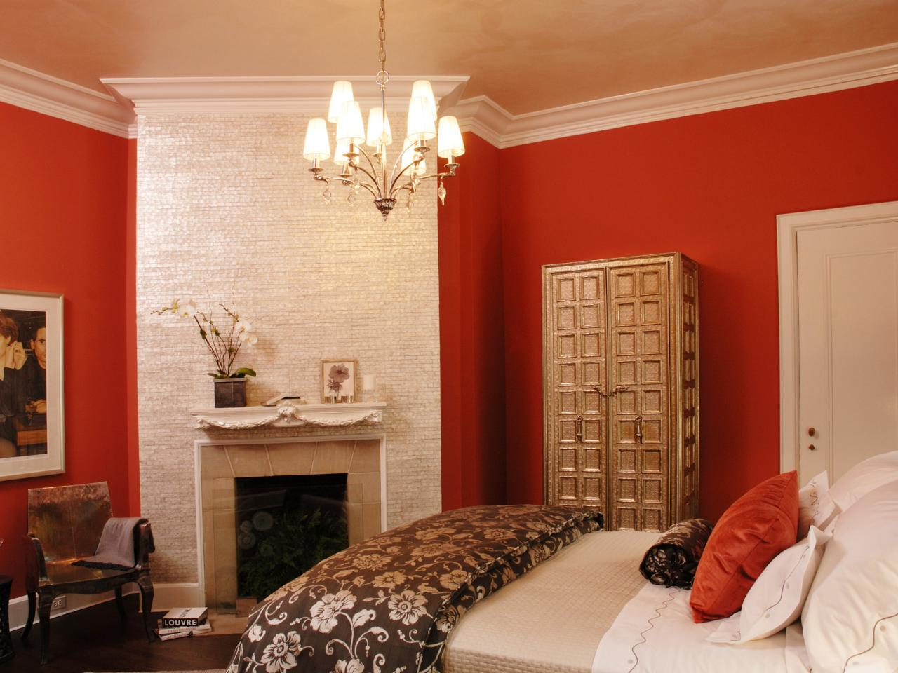 Bedroom paint for romantic couples