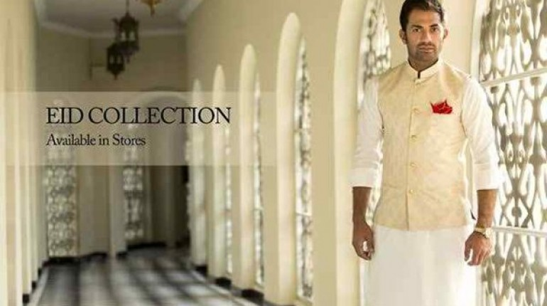 73bd9850bf Humayun Alamgir Eid Collection 2015 For Men