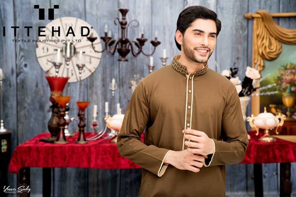 Ittehad Textiles Eid Collection 2015 For Men003