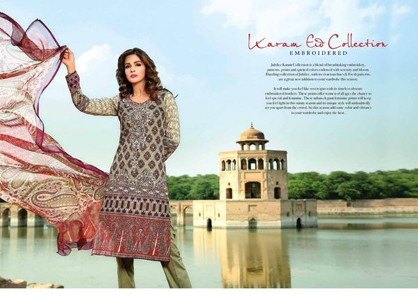 Jubilee Cloth Mills Eid Collection 2015 For Women0011