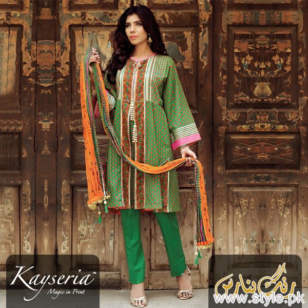 Kayseria Eid Dresses 2015 For Women 2