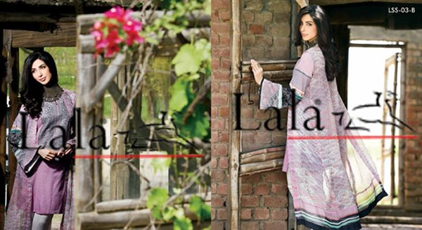 Lala Textiles Eid Collection 2015 By Sonya Battla0012