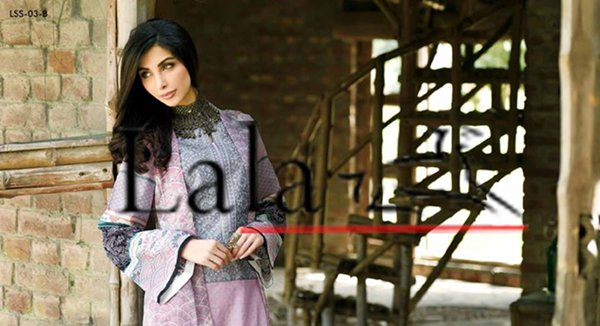 Lala Textiles Eid Collection 2015 By Sonya Battla0013