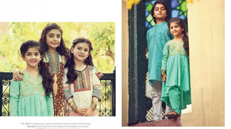 fb791615e2d0 Leisure Club Eid Collection 2015 For Kids