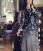 Maria B Embroidered Chiffon Collection 2015 For Women0010