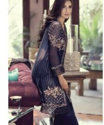 Maria B Embroidered Chiffon Collection 2015 For Women0011