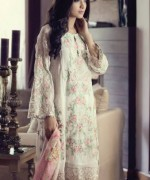 Maria B Embroidered Chiffon Collection 2015 For Women002
