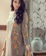Maria B Embroidered Chiffon Collection 2015 For Women005
