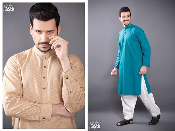 Naqsh By Nishat Linen Eid Collection 2015 For Men001