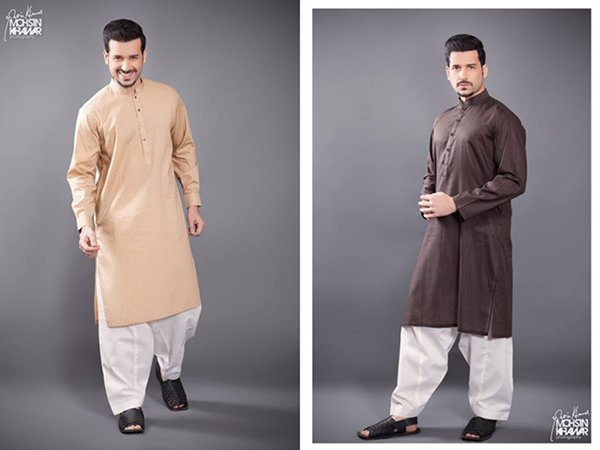 Naqsh By Nishat Linen Eid Collection 2015 For Men003
