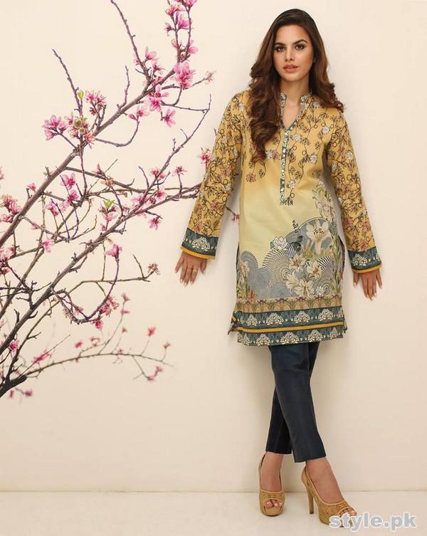 Nida Azwer Eid-Ul-Fitr Dresses 2015 For Women 2