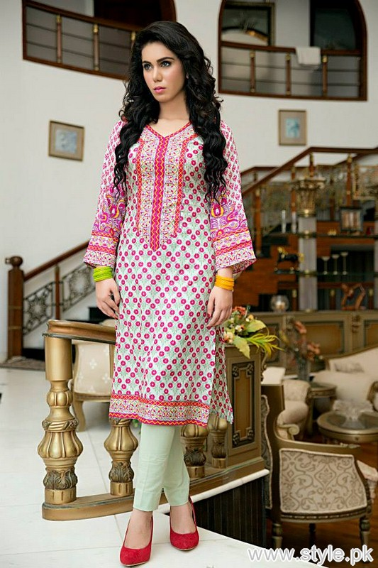 Phulkari by Taana Baana Eid Dresses 2015 For Women 5