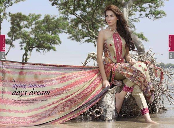 Rashid Textile Lawn Collection 2015 Volume 2 For Women0014