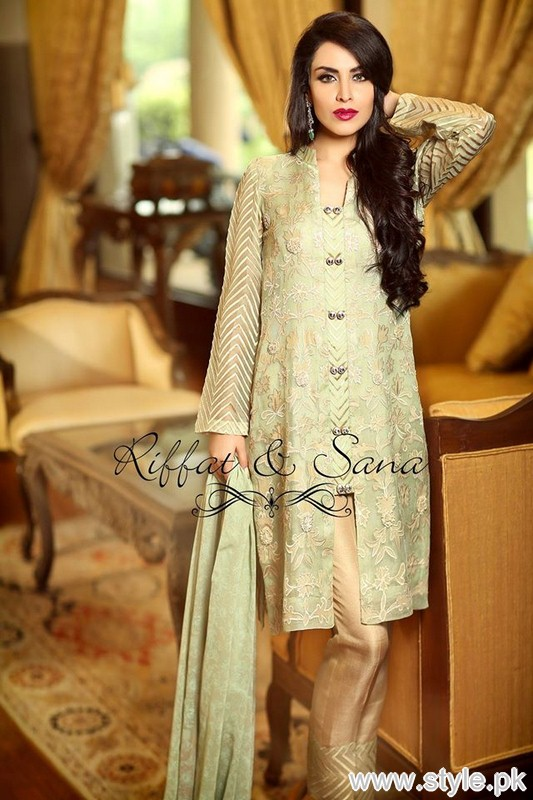 Sana Salman Eid-Ul-Fitr Dresses 205 For Girls 13