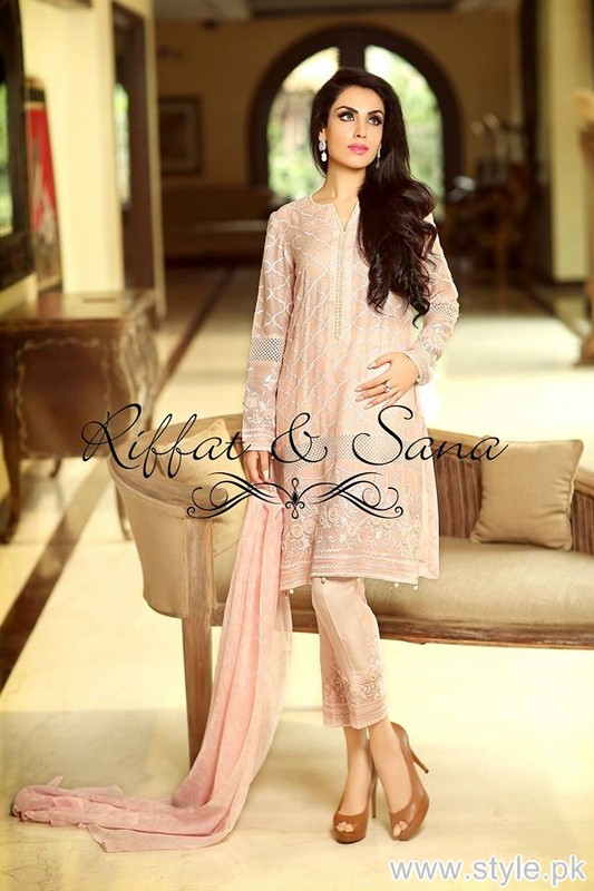 Sana Salman Eid-Ul-Fitr Dresses 205 For Girls 7