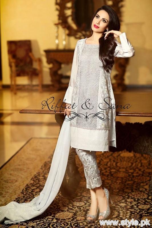 dd53bf9f3f Sana Salman Eid-Ul-Fitr Dresses 2015 For Girls