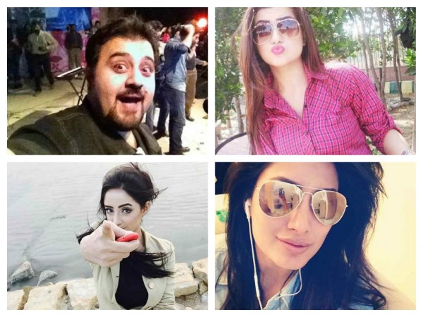 Which Pakistani Celebrities Are Selfie Junkies