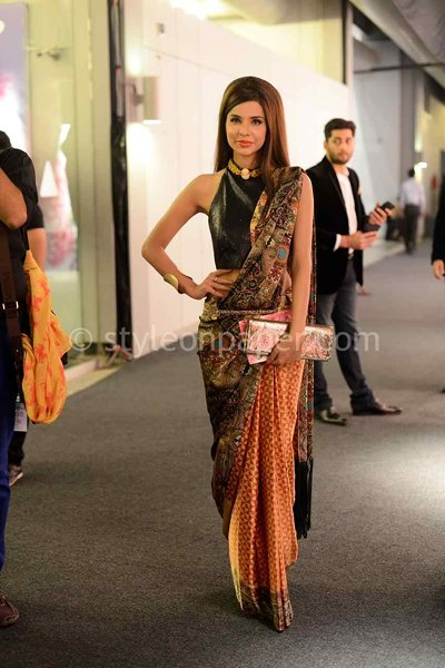 Which Pakistani Celebrities Look Beautiful In Saree005