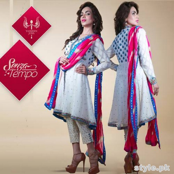 Yasmeen Jiwa Eid Collection 2015 For Women 2