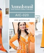 Amna Ismail Chiffon Dresses 2015 For Women 3