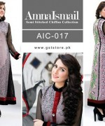 Amna Ismail Chiffon Dresses 2015 For Women 4