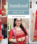 Amna Ismail Chiffon Dresses 2015 For Women 5