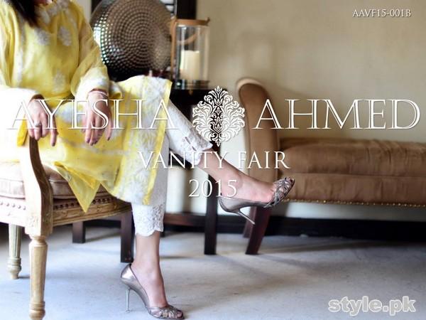 Ayesha Ahmed Eid Dresses 2015 For Girls 7