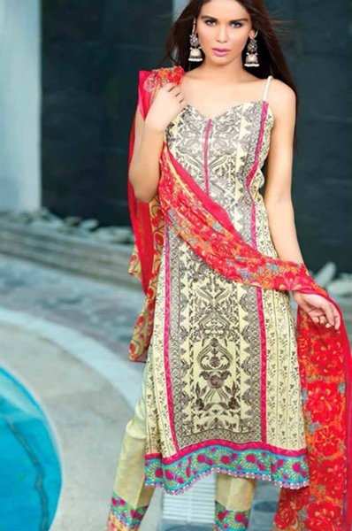 Ayesha Chottani Eid Collection 2015 By Shariq Textiles005