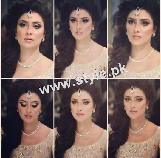 Ayeza Khan as a signature bride of Natashas Salon  3
