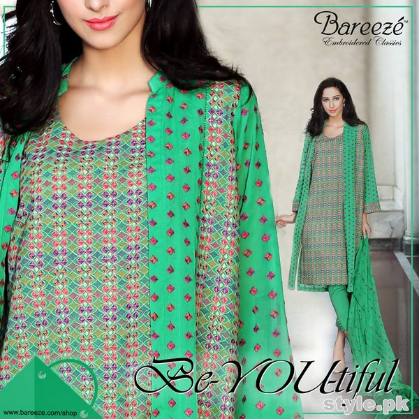 Bareeze Eid Dresses 2015 For Women 4