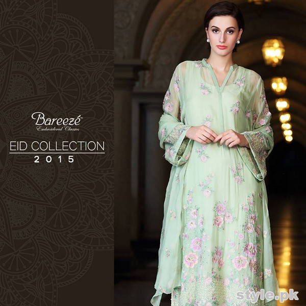 Bareeze Eid Dresses 2015 For Women 6