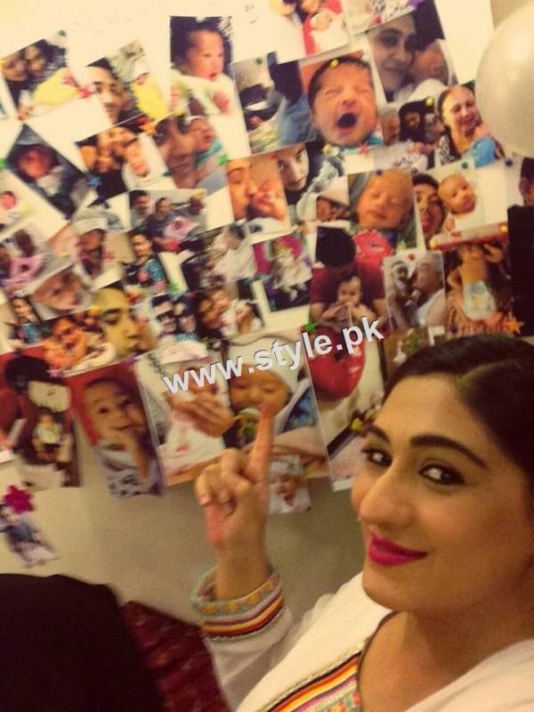Birthday Celebration of Madiha Rizvi and Hassan Noman's daughter Annaya (4)