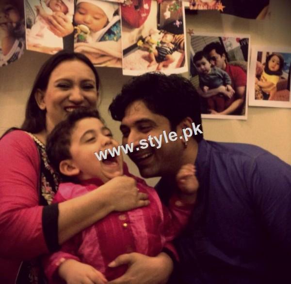 Birthday Celebration of Madiha Rizvi and Hassan Noman's daughter Annaya (5)