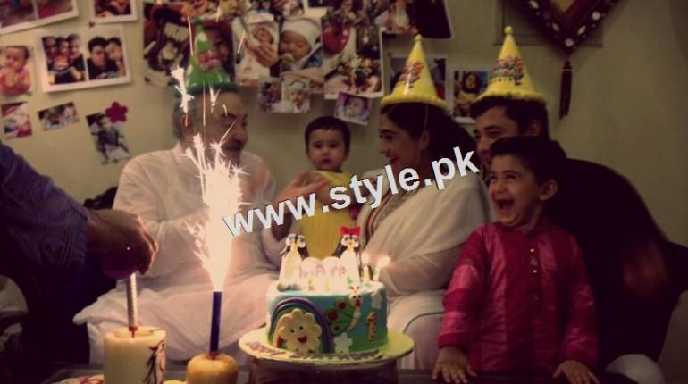 See Birthday Celebration of Madiha Rizvi and Hassan Noman's daughter Annaya